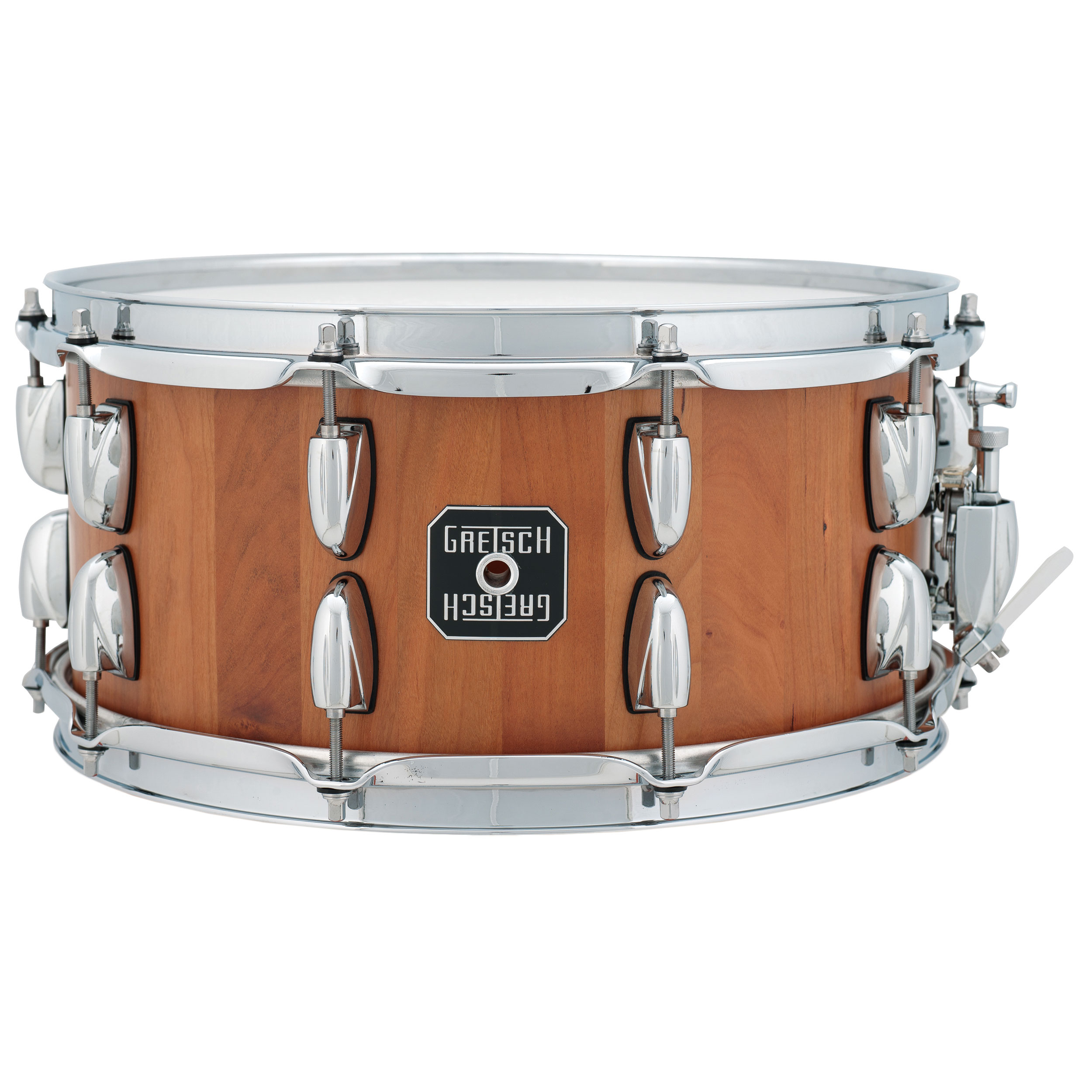 gretsch 6 5 x 14 cherry stave snare drum s 6514ssc sn. Black Bedroom Furniture Sets. Home Design Ideas