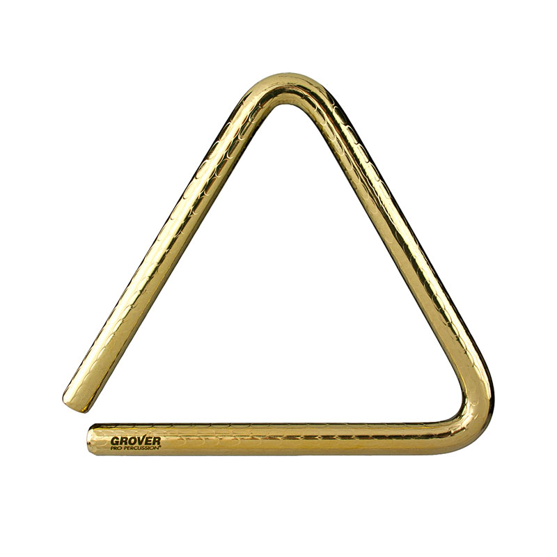 "Grover Pro 8"" Bronze-Pro Hammered Triangle"