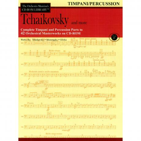 The Orchestra Musician's CD Library (Timpani/Percussion) Vol. 4 - Tchaikovsky and More