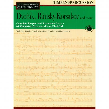The Orchestra Musician's CD Library (Timpani/Percussion) Vol. 5 - Dvorak, Rimsky-Korsakov, and More