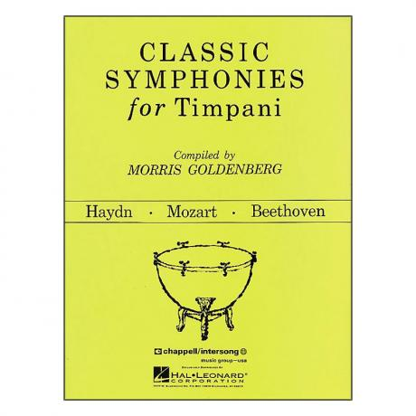 Classic Symphonies For Timpani by Morris Goldenberg