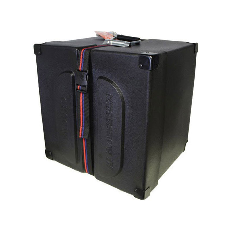 """Humes & Berg 12"""" (Deep) x 15"""" (Diameter) Enduro Foam-Lined Square Marching Snare Case"""