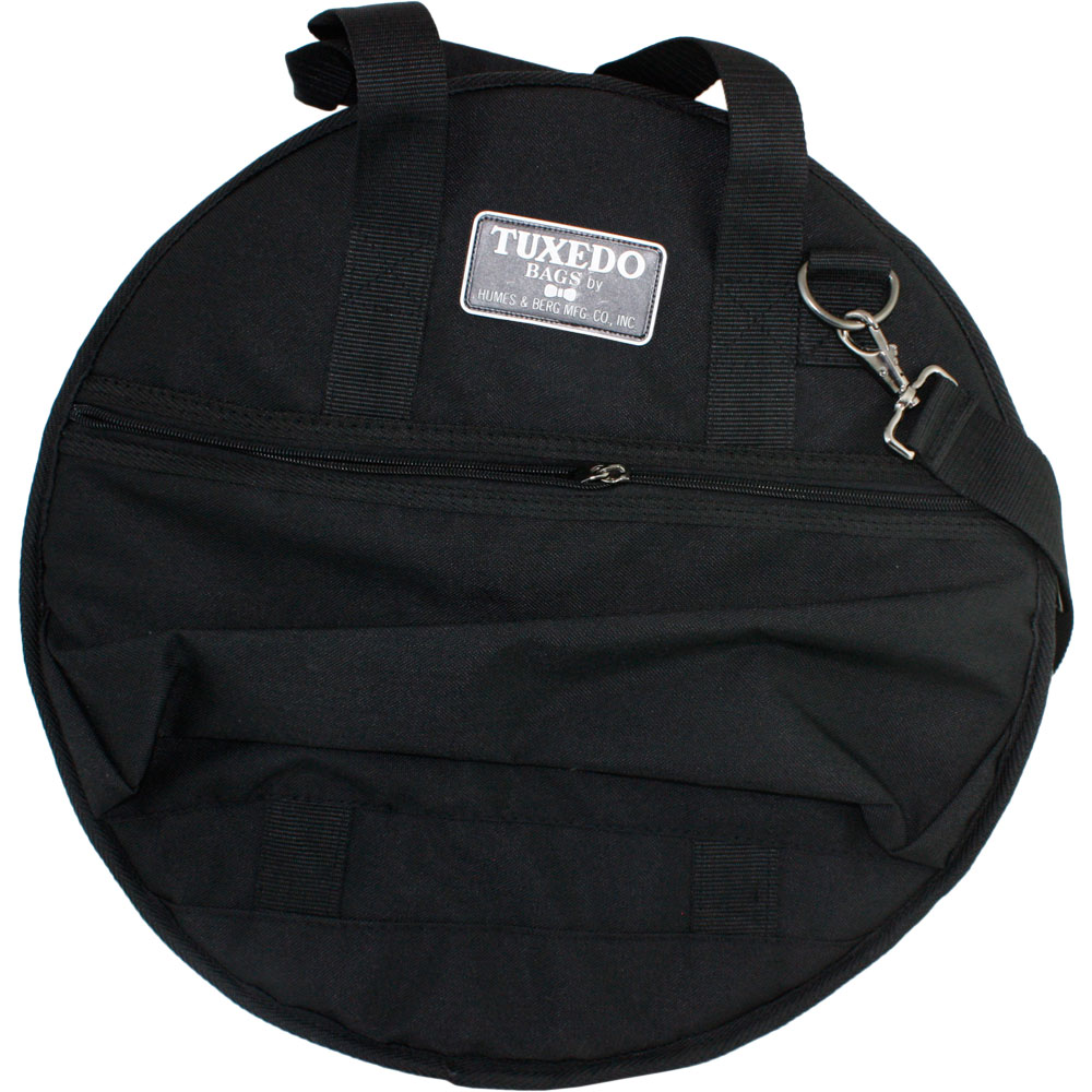 "Humes & Berg 22"" Tuxedo Cymbal bag with Dividers and Backpack"