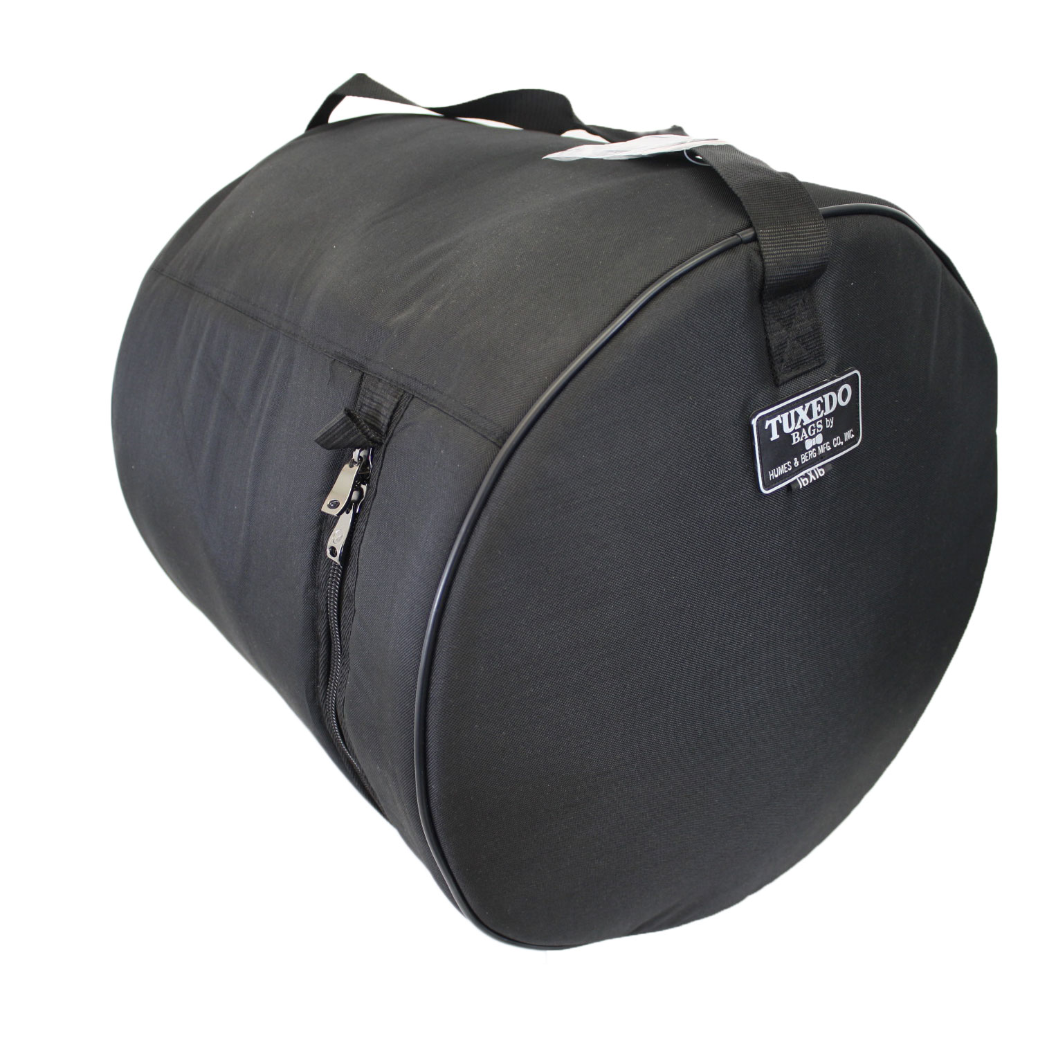"Humes & Berg 7"" (Deep) X 10"" (Diameter) Tuxedo Tom Bag/Soft Case"