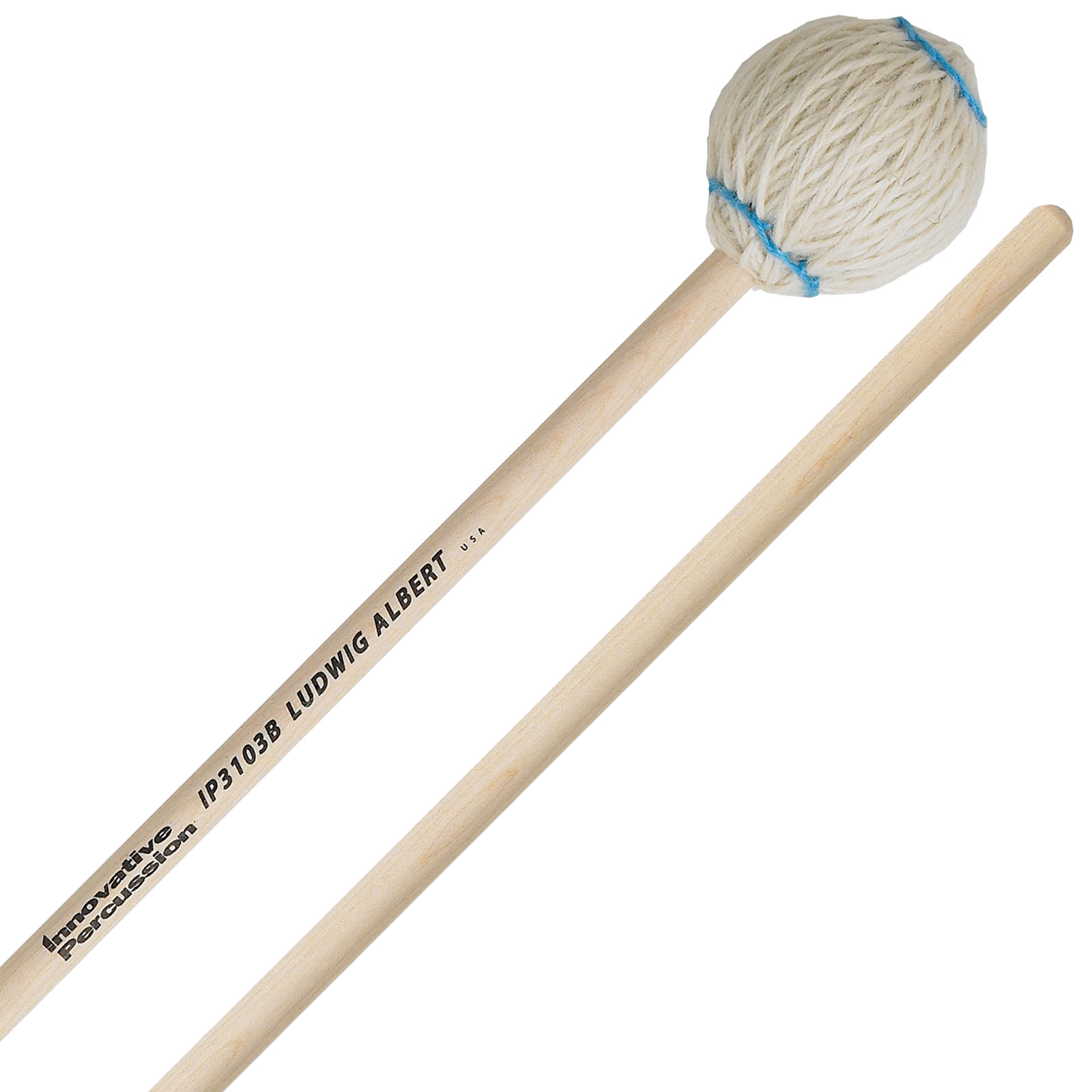 Innovative Percussion Ludwig Albert Signature Soft Marimba Mallets with Birch Shafts