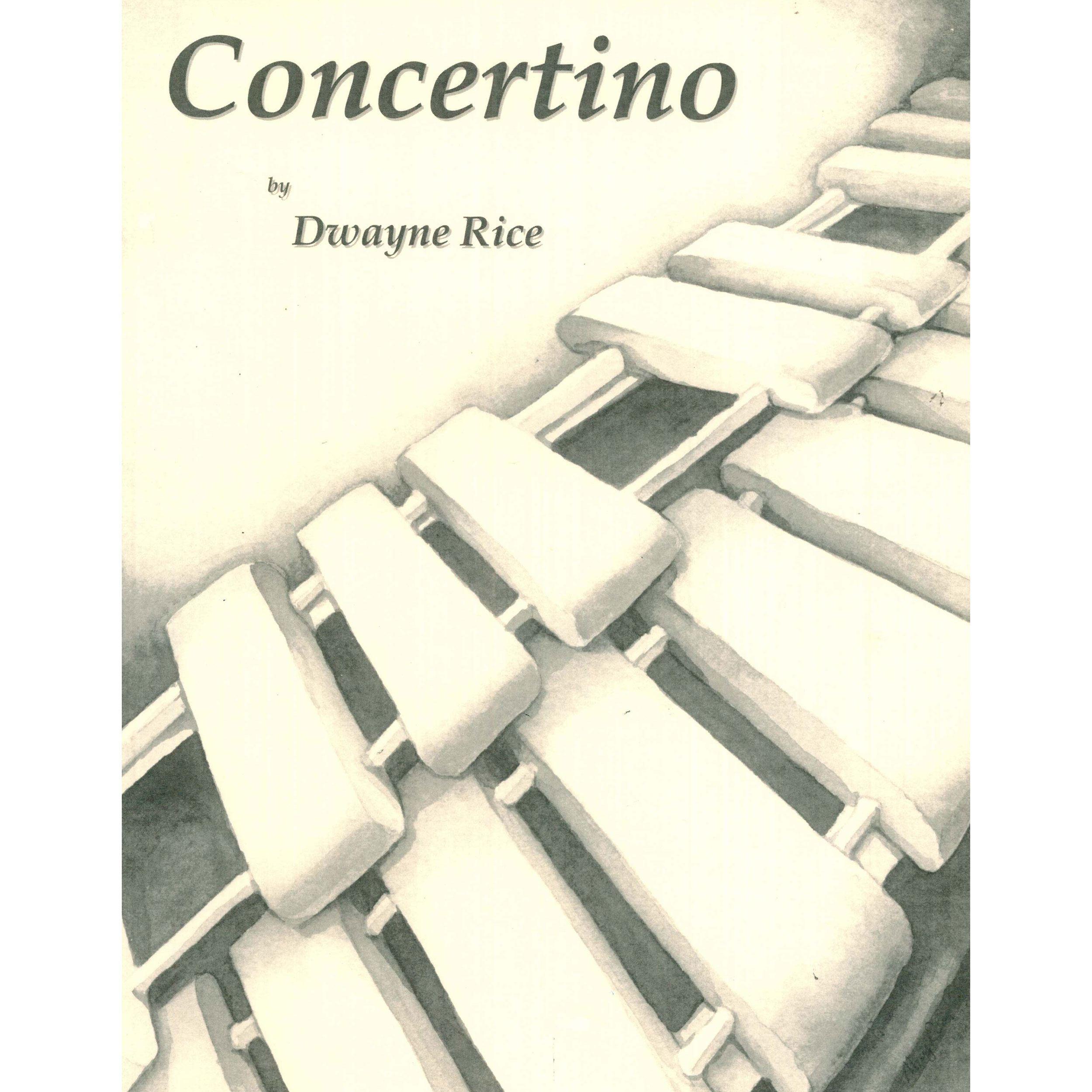 Concertino for Marimba by Dwayne Rice