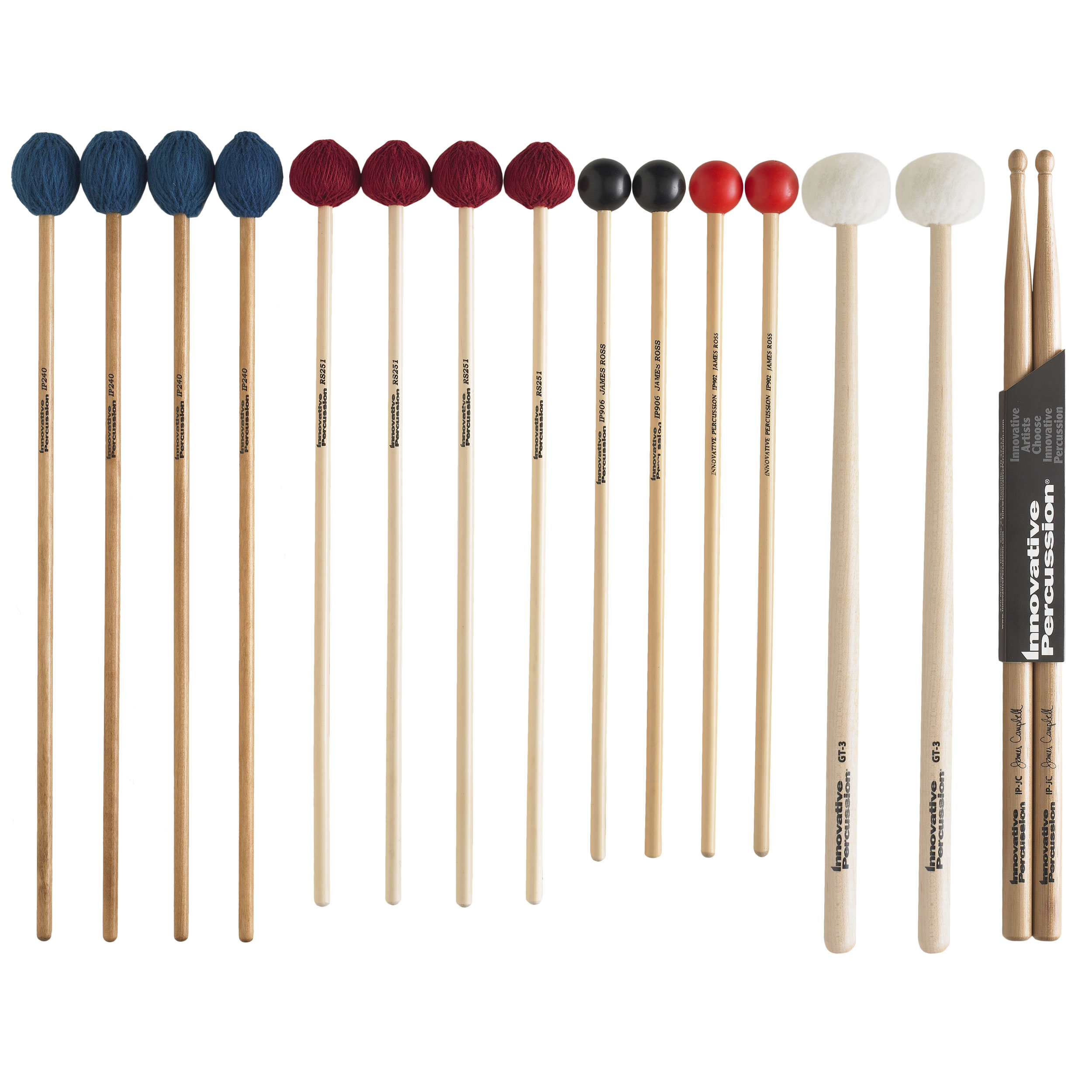 Innovative Percussion College Primer Stick Amp Mallet Pack