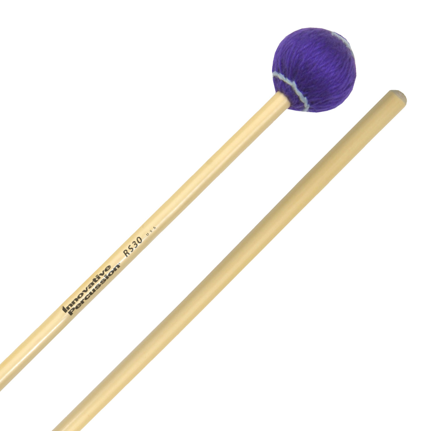 Innovative Percussion Rattan Series Medium Hard Vibraphone/Marimba Mallets