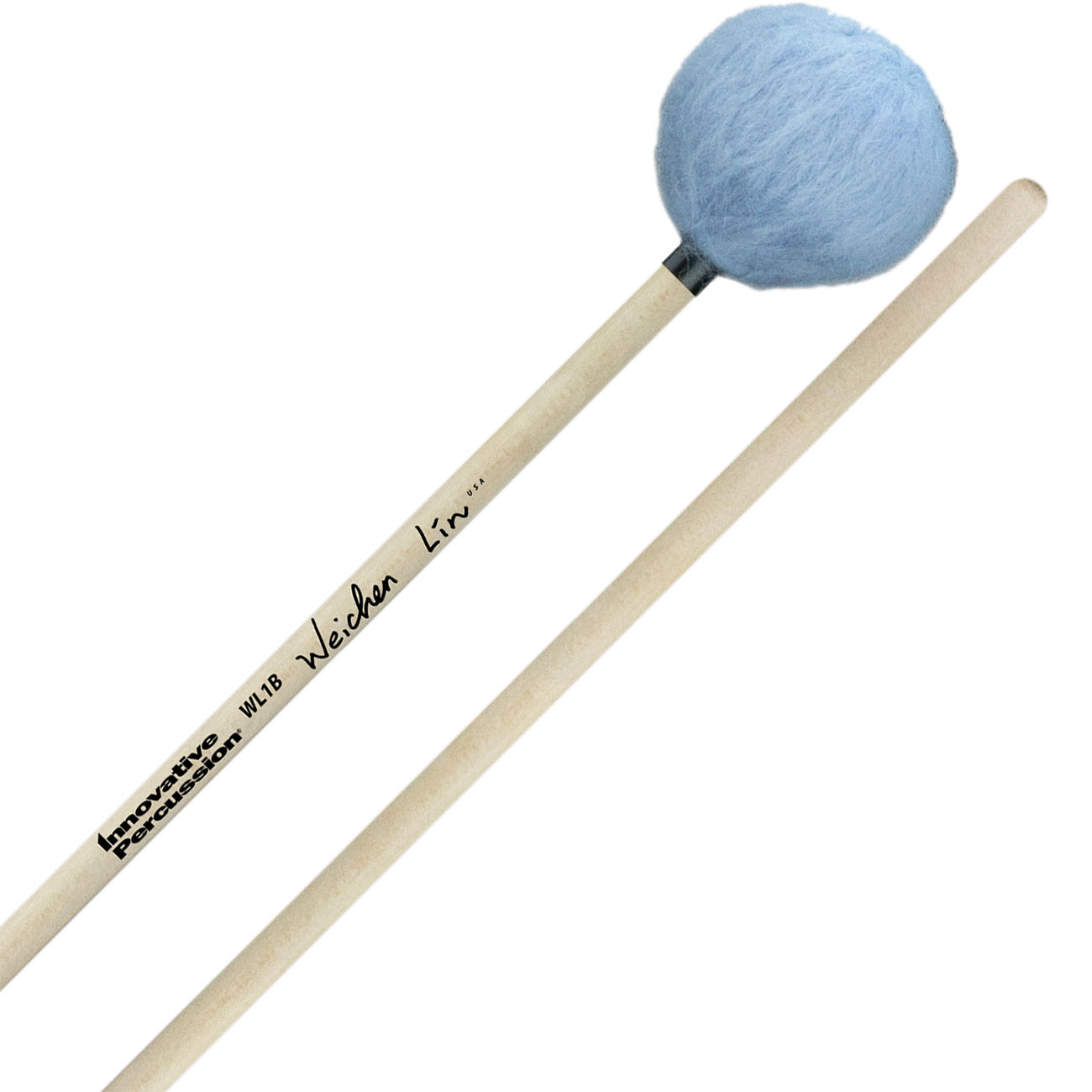 Innovative Percussion Wei-Chen Lin Signature Bass Marimba Mallets with Birch Handles