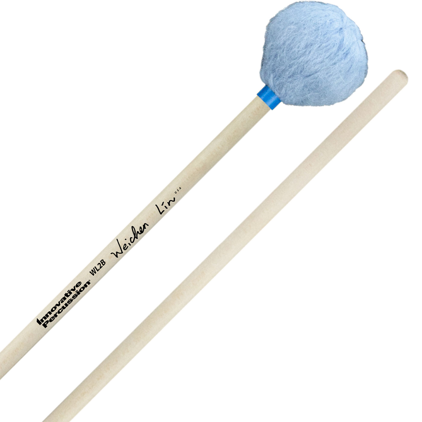 Innovative Percussion Wei-Chen Lin Signature Soft Marimba Mallets with Birch Handles
