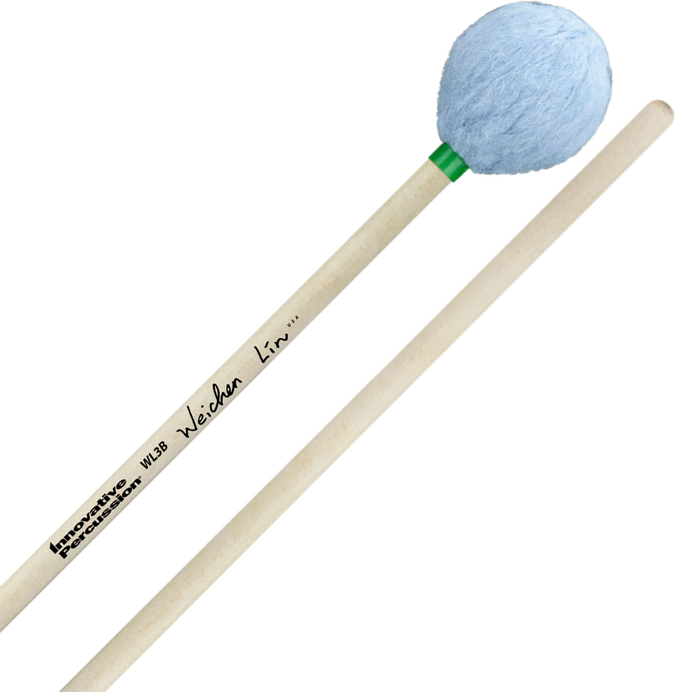Innovative Percussion Wei-Chen Lin Signature Medium Soft Marimba Mallets with Birch Handles