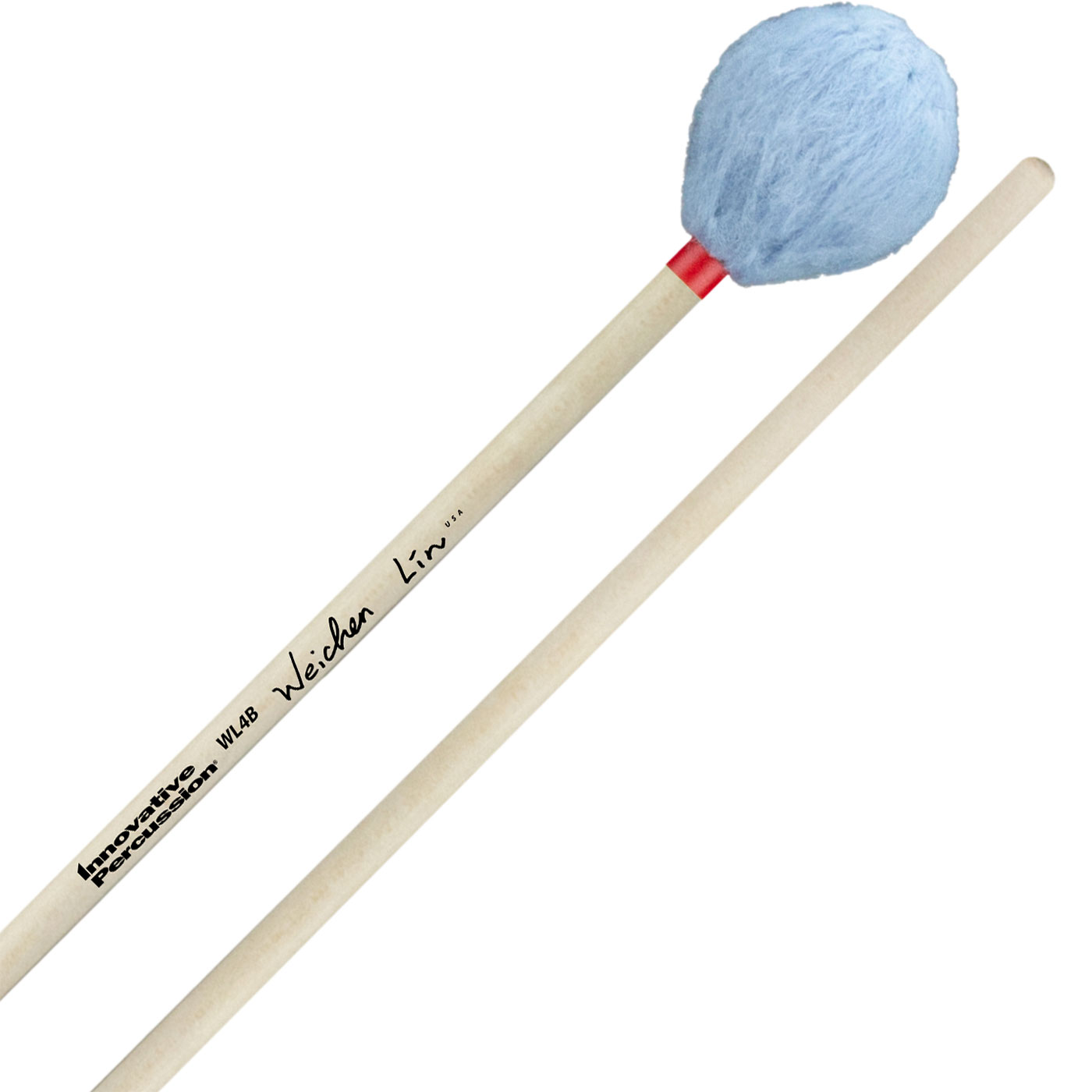 Innovative Percussion Wei-Chen Lin Signature Medium Marimba Mallets with Birch Handles