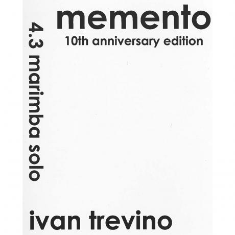 Memento (4.3 Octave Version) by Ivan Trevino