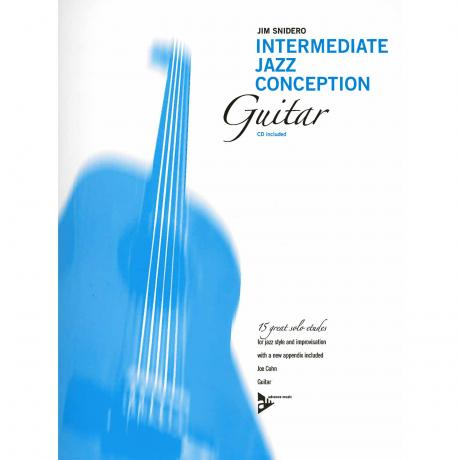 Intermediate Jazz Conception for Guitar by Jim Snidero