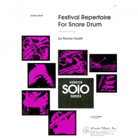 Festival Repertoire for Snare Drum by Murray Houllif