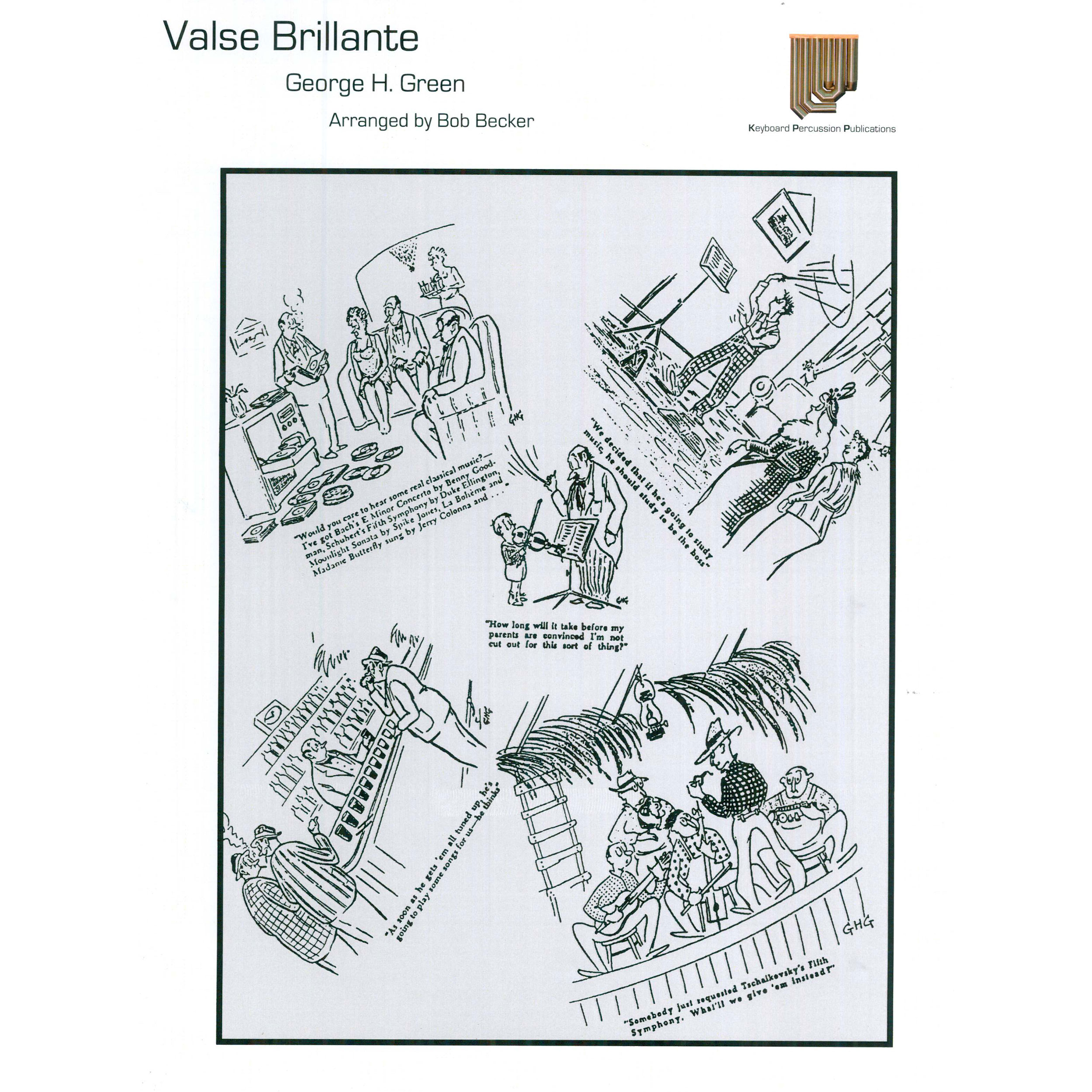 Valse Brillant by George Hamilton Green arr. Bob Becker