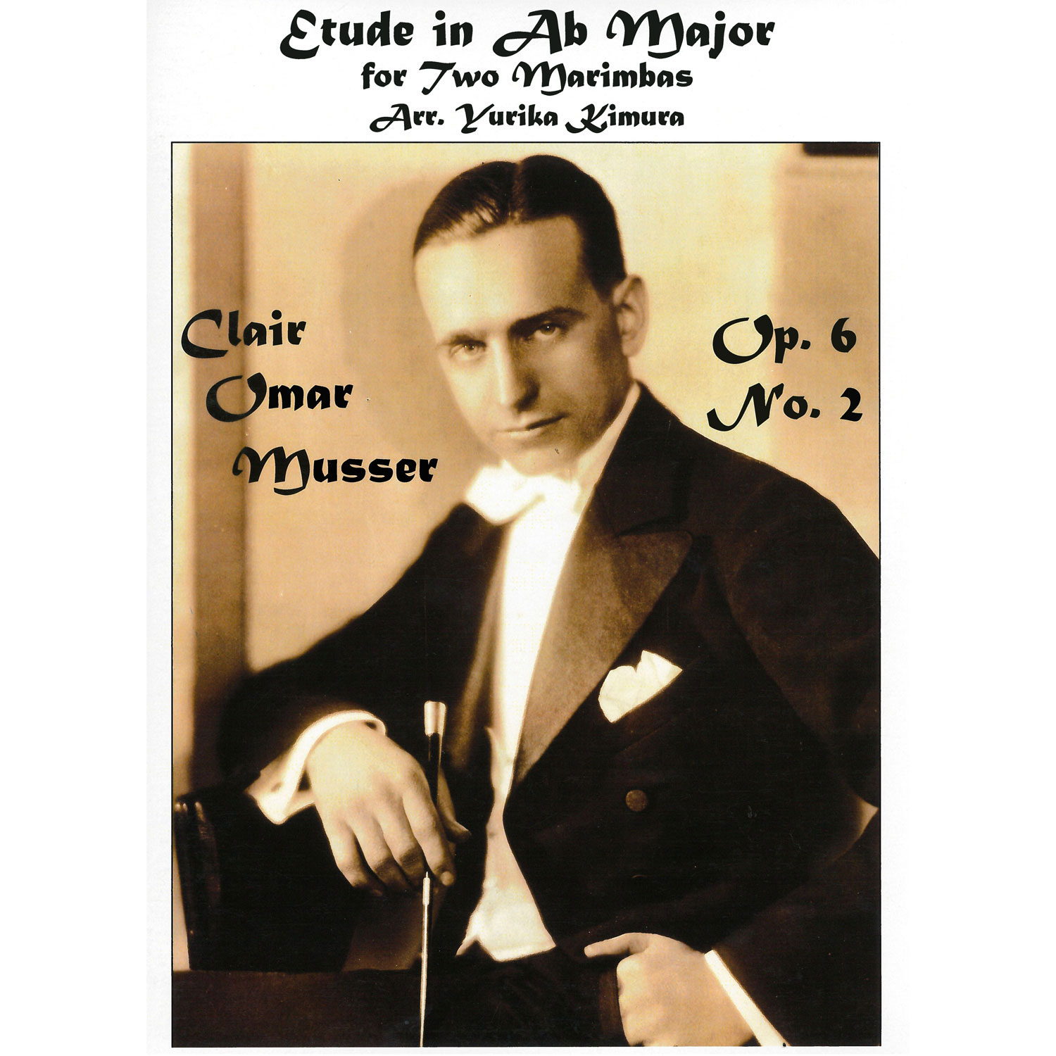 Etude in Ab Major Op. 6 No. 2 for Two Marimbas by Clair Omar Musser arr. Kimura
