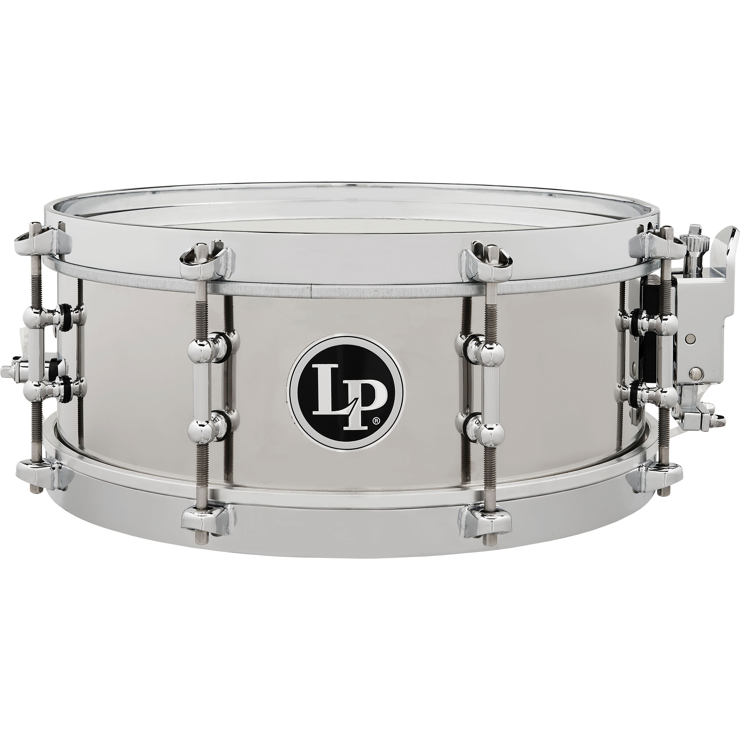 "LP 4.5"" x 12"" Stainless Steel Salsa Snare Drum"