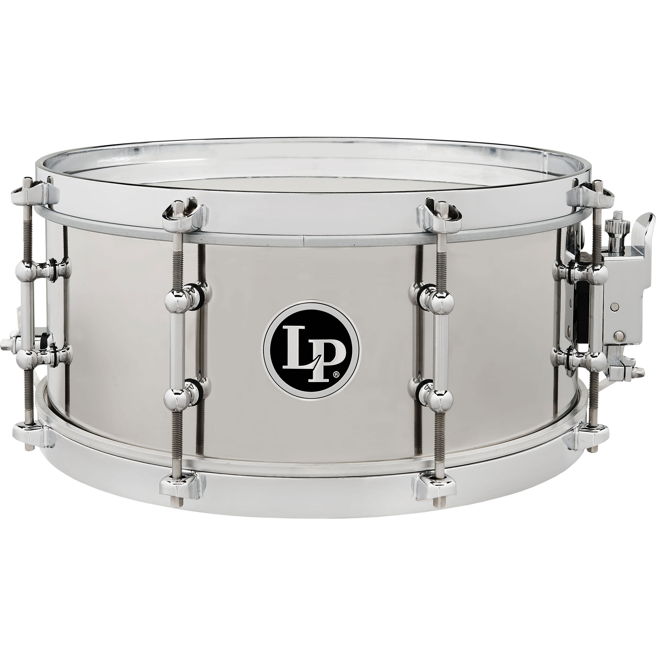 "LP 5.5"" x 13"" Stainless Steel Salsa Snare Drum"