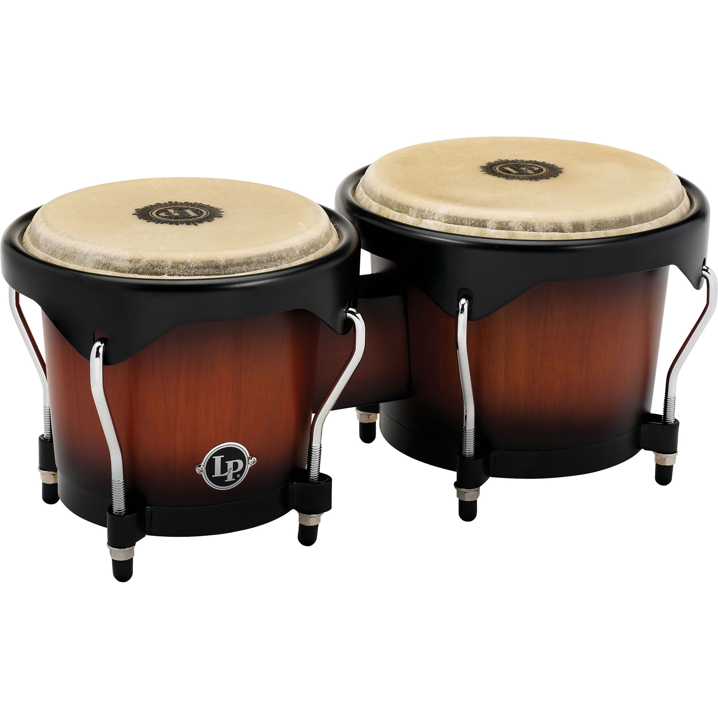 "LP 6"" & 7"" City Bongos in Vintage Sunburst"