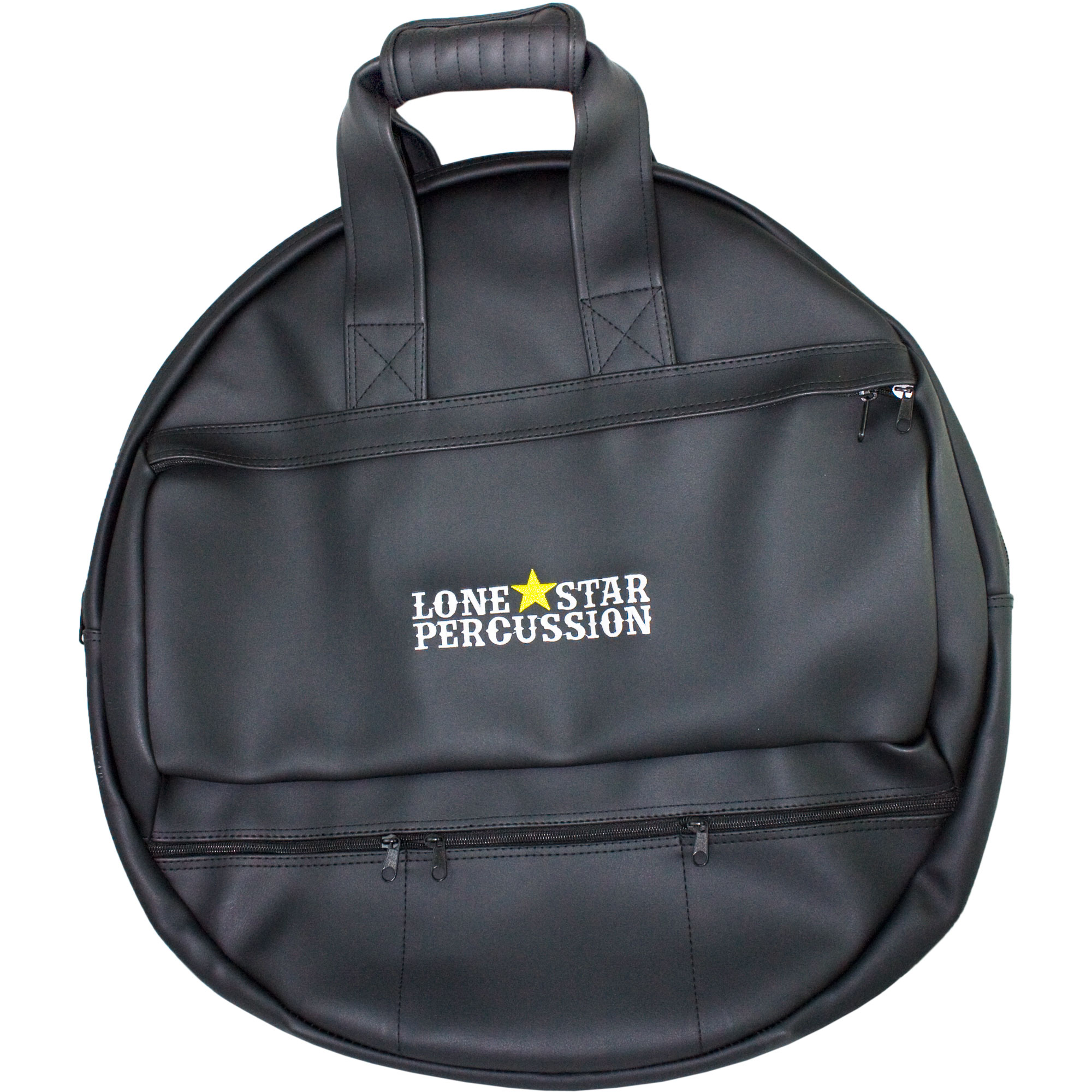 "Lone Star Percussion 22"" Premium Cymbal Bag with Backpack Straps"