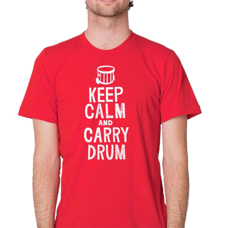 Lone Star Percussion Keep Calm Drummer T-Shirt
