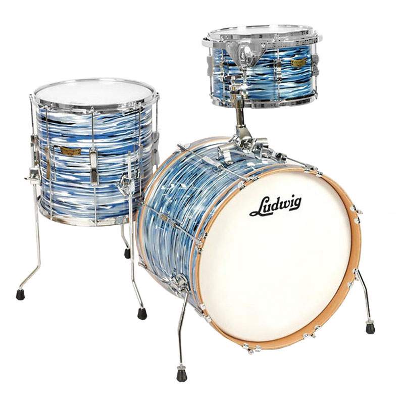 "Ludwig Club Date 3-Piece Drum Set Shell Pack (22"" Bass, 13/16"" Toms)"
