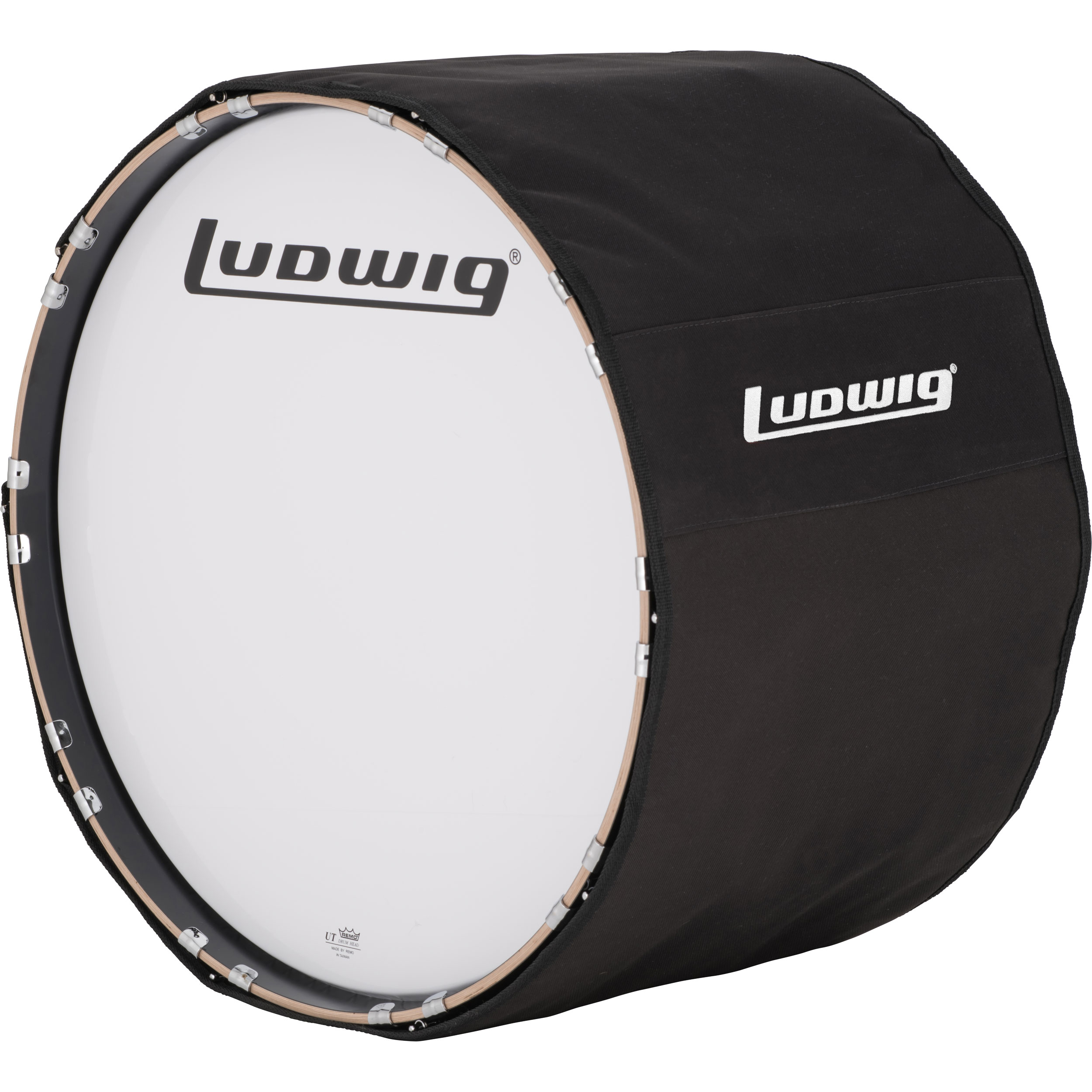 "Ludwig 24"" Marching Bass Drum Cover"