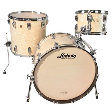 Ludwig Classic Maple 3-Piece Drum Set Shell Pack (22