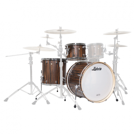 Ludwig Signet 3-Piece Drum Set Shell Pack (20