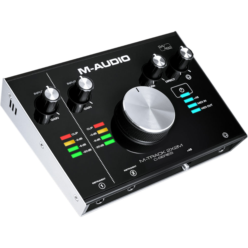 M-Audio M-Track C-Series 2x2M Audio Interface