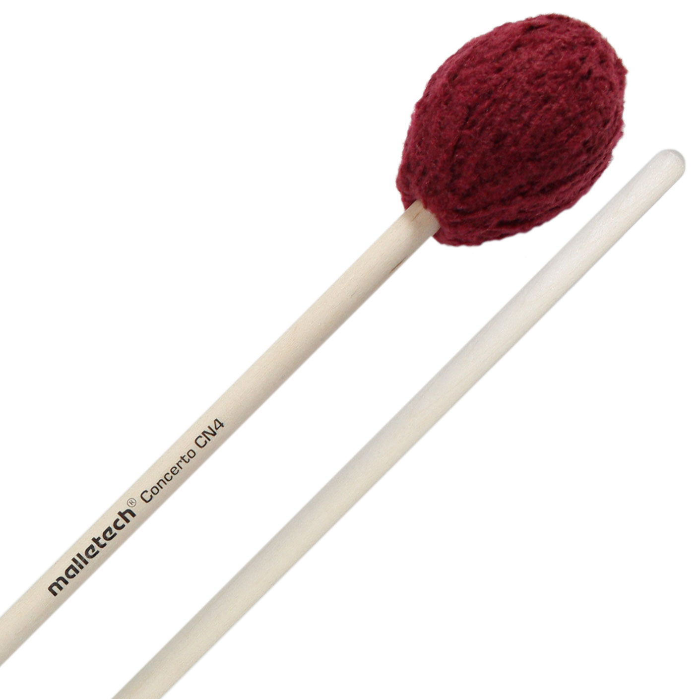 Malletech Concerto Series Soft Marimba Mallets with Birch Handles