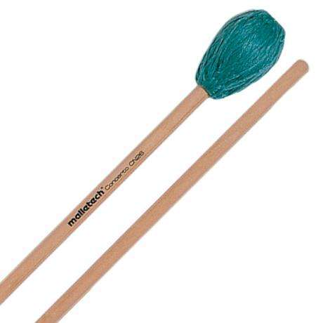 Malletech Concerto Series Very Hard Marimba Mallets with Birch Handle