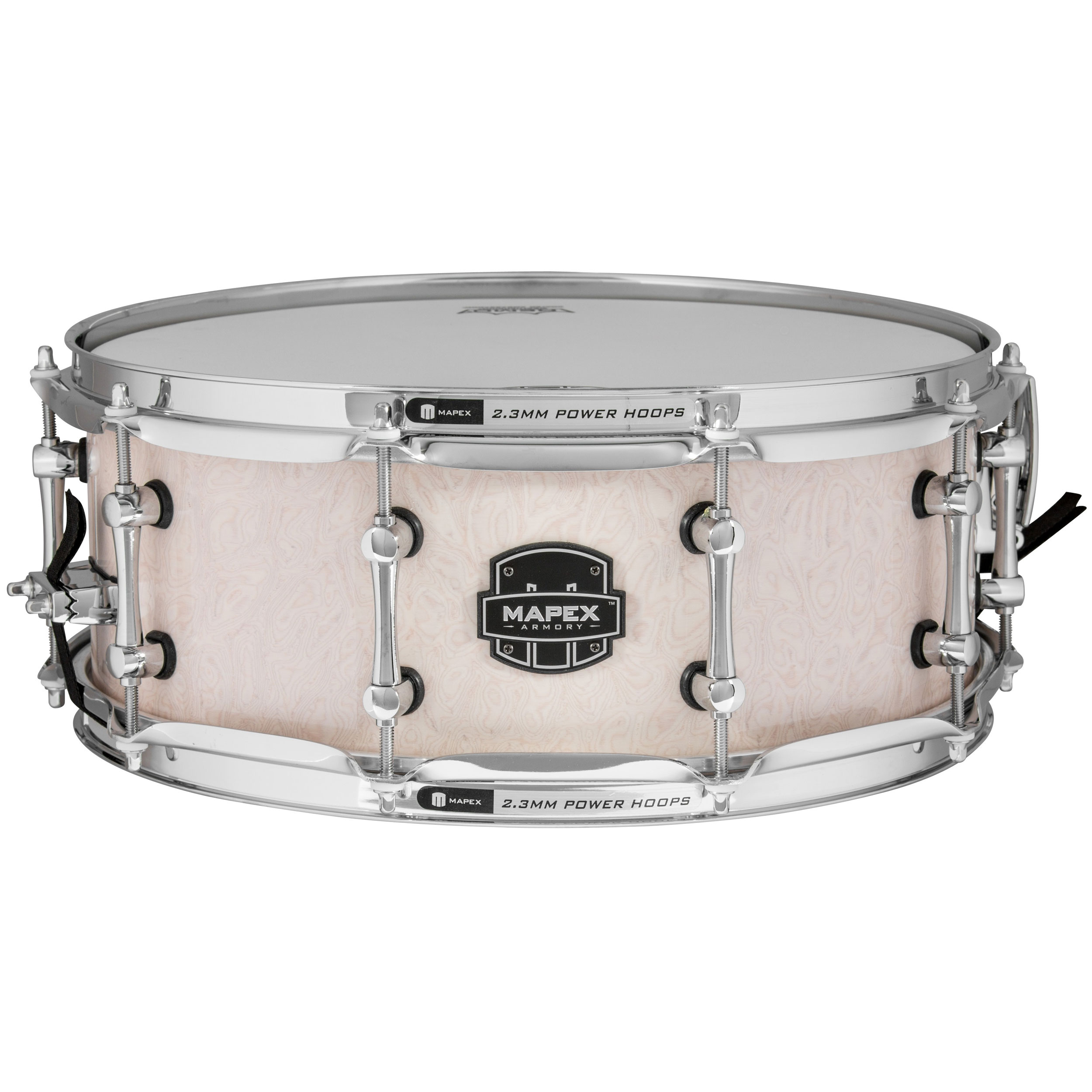 mapex 5 5 x 14 armory peacemaker maple walnut snare drum armw4550kcai. Black Bedroom Furniture Sets. Home Design Ideas