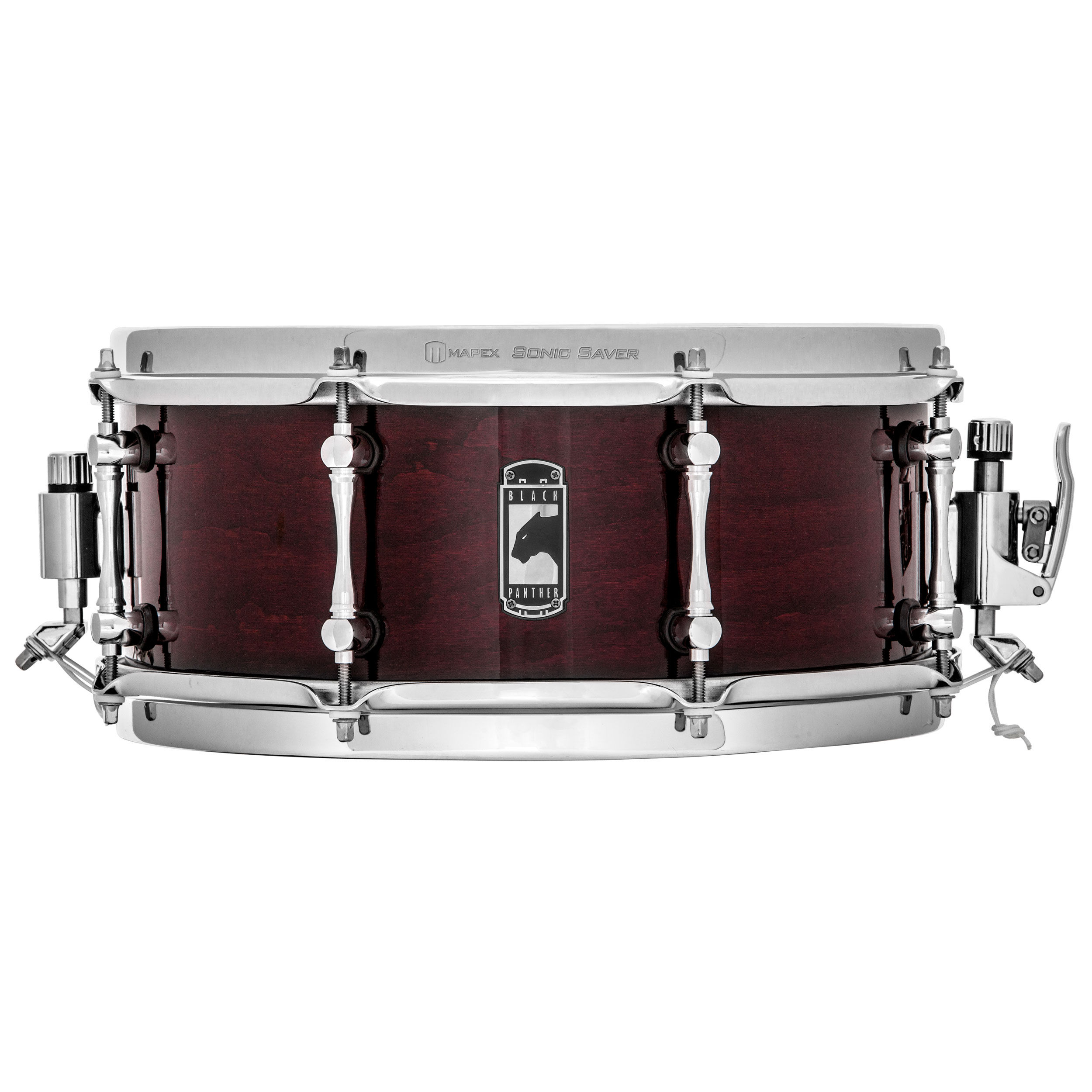 "Mapex 13"" x 5.5"" Black Panther Cherry Bomb Snare Drum"