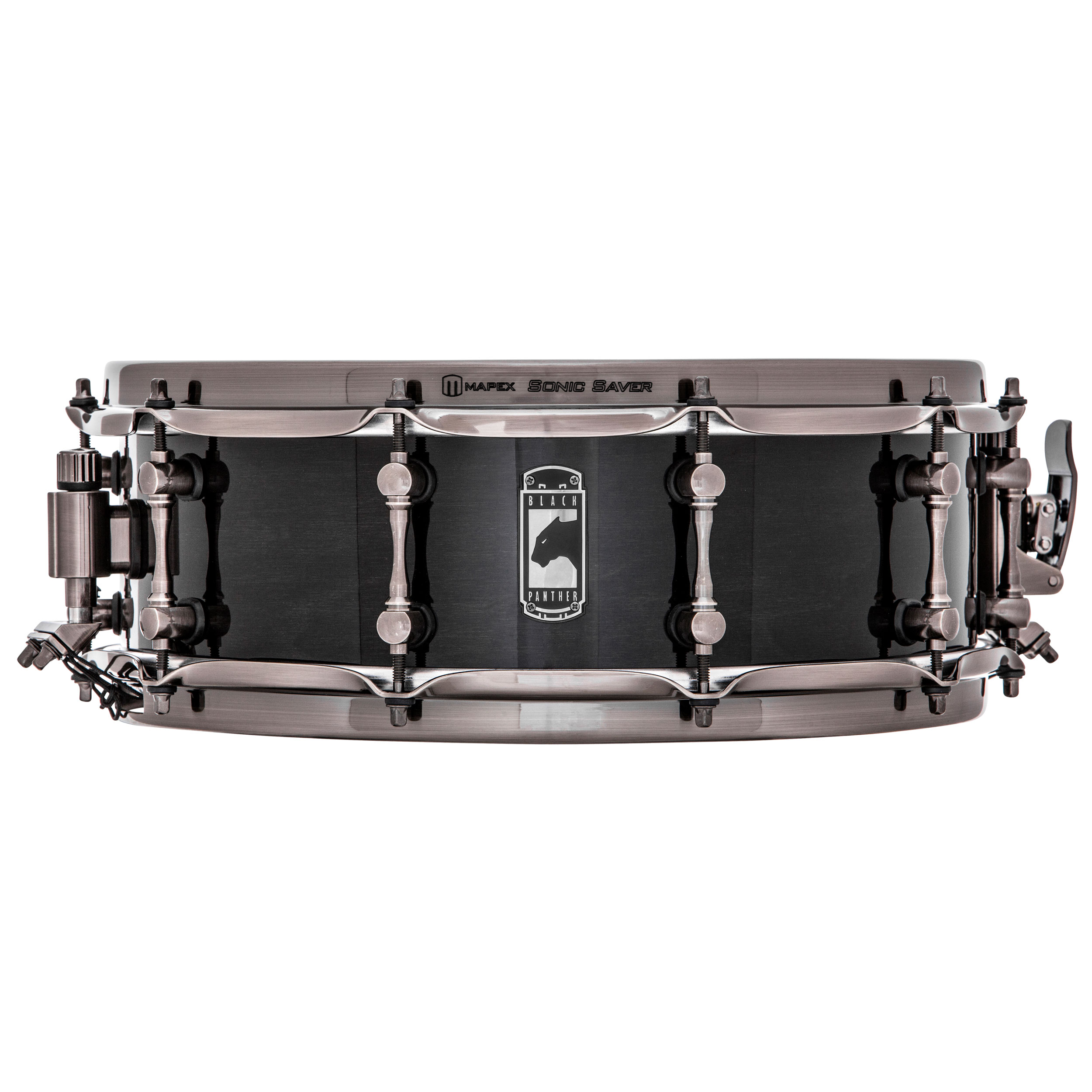 "Mapex 14"" x 5"" Black Panther Black Widow Snare Drum"