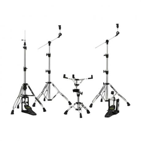 Mapex Armory Single Pedal Hardware Pack in Chrome/Black Plating