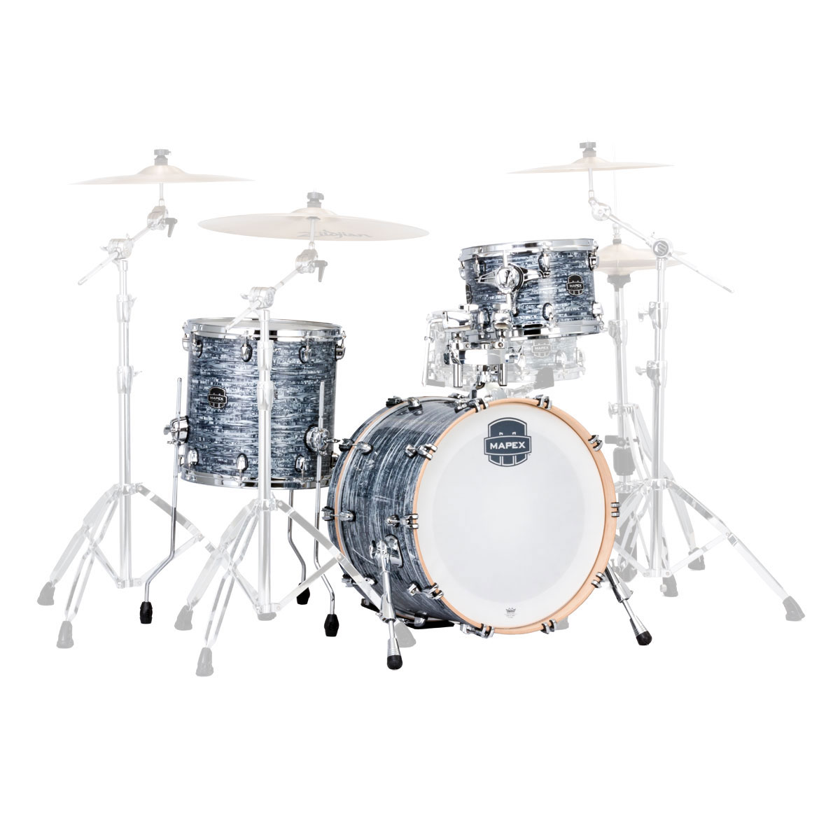 "Mapex Saturn V Tour Edition 3-Piece Drum Set Shell Pack (20"" Bass, 12/14"" Toms)"