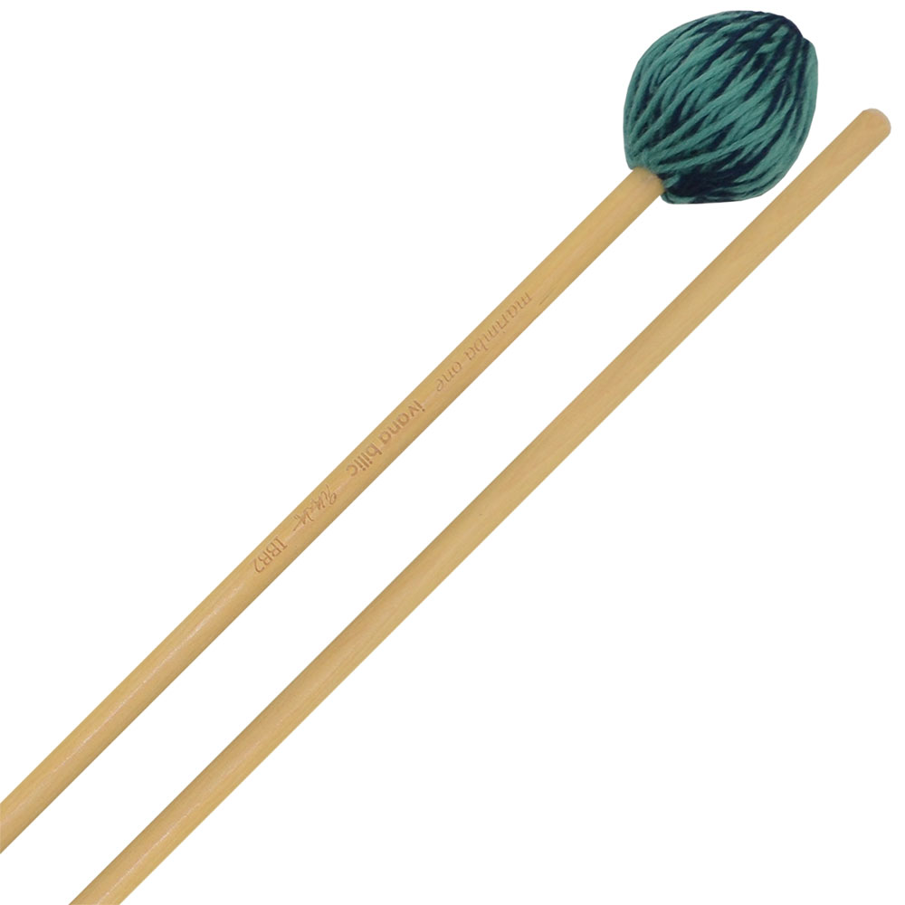 Marimba One Ivana Bilic Signature Medium Hard Marimba Mallets with Birch Shafts