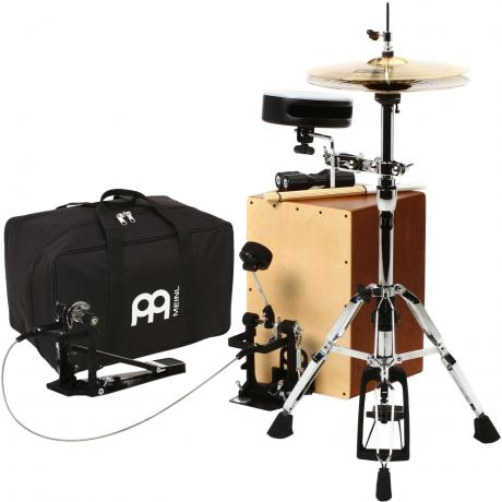 Meinl Cajon Drum Set Package with FREE Bag, Multi-Rods, & Shaker