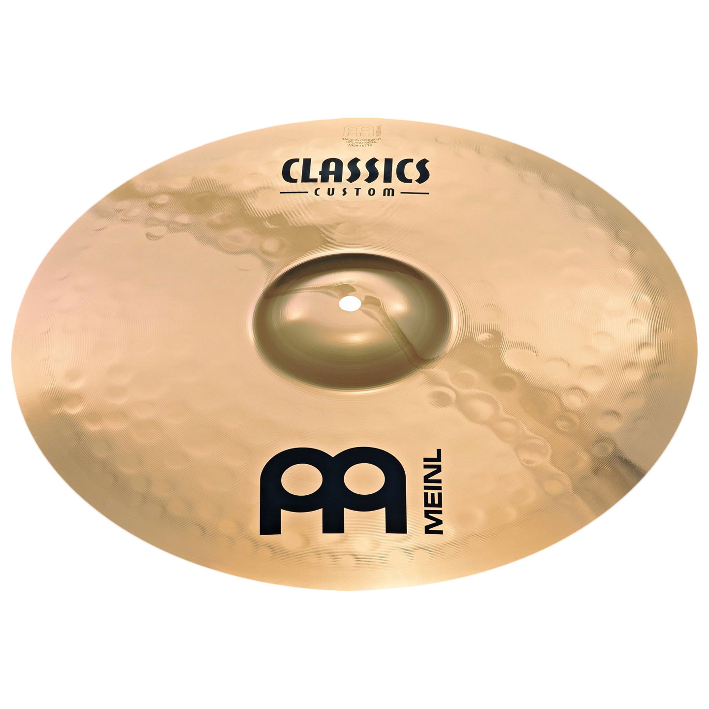 "Meinl 18"" Classics Custom Medium Crash Cymbal"