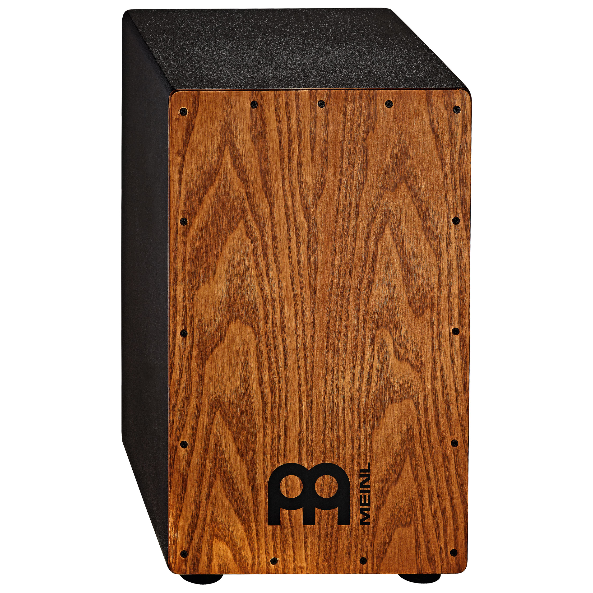 "Meinl 11.75"" x 19.75"" x 11.75"" Headliner Cajon with Stained American White Ash Frontplate"