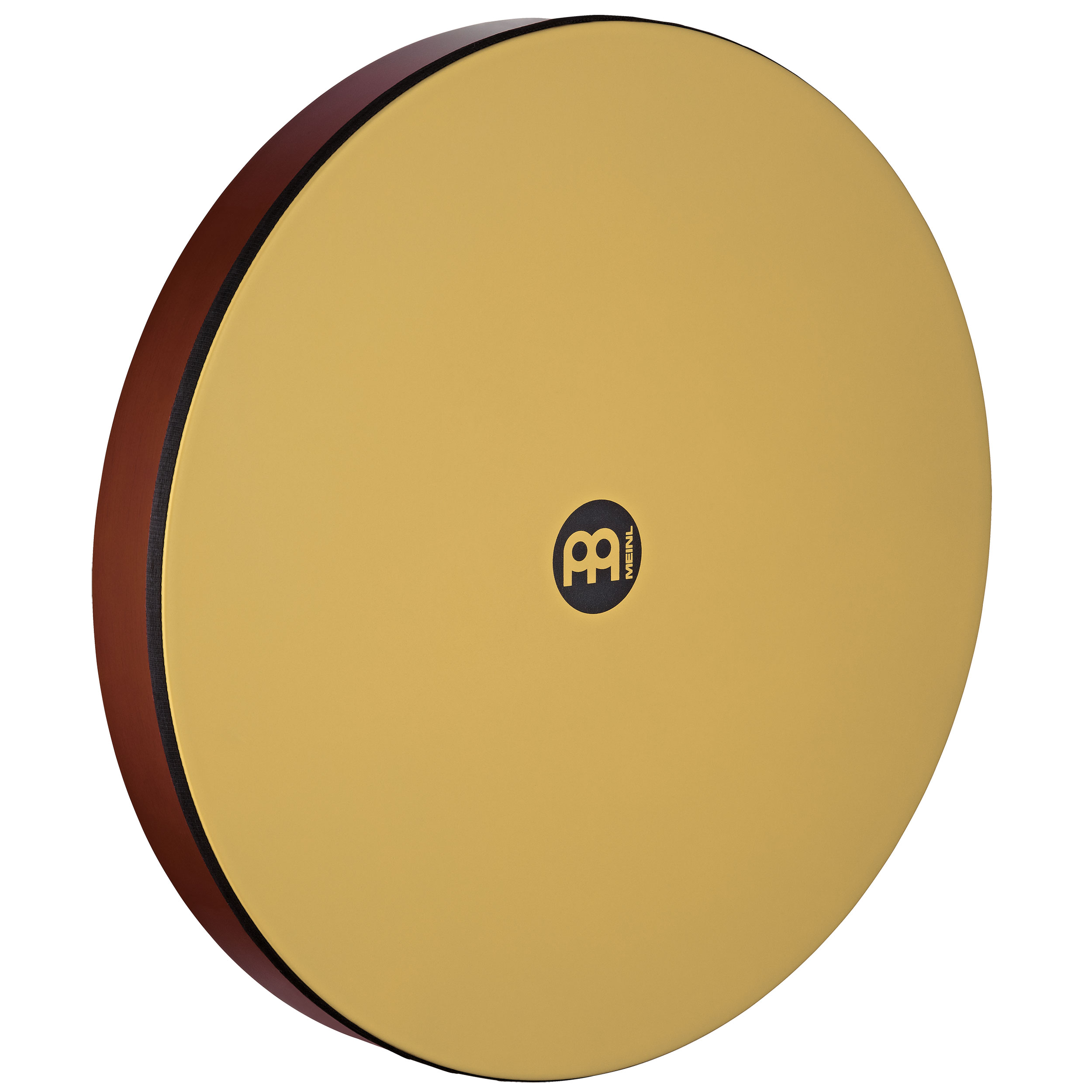 """Meinl 20"""" x 2.75"""" Hand Drum with Synthetic Head in African Brown Finish"""