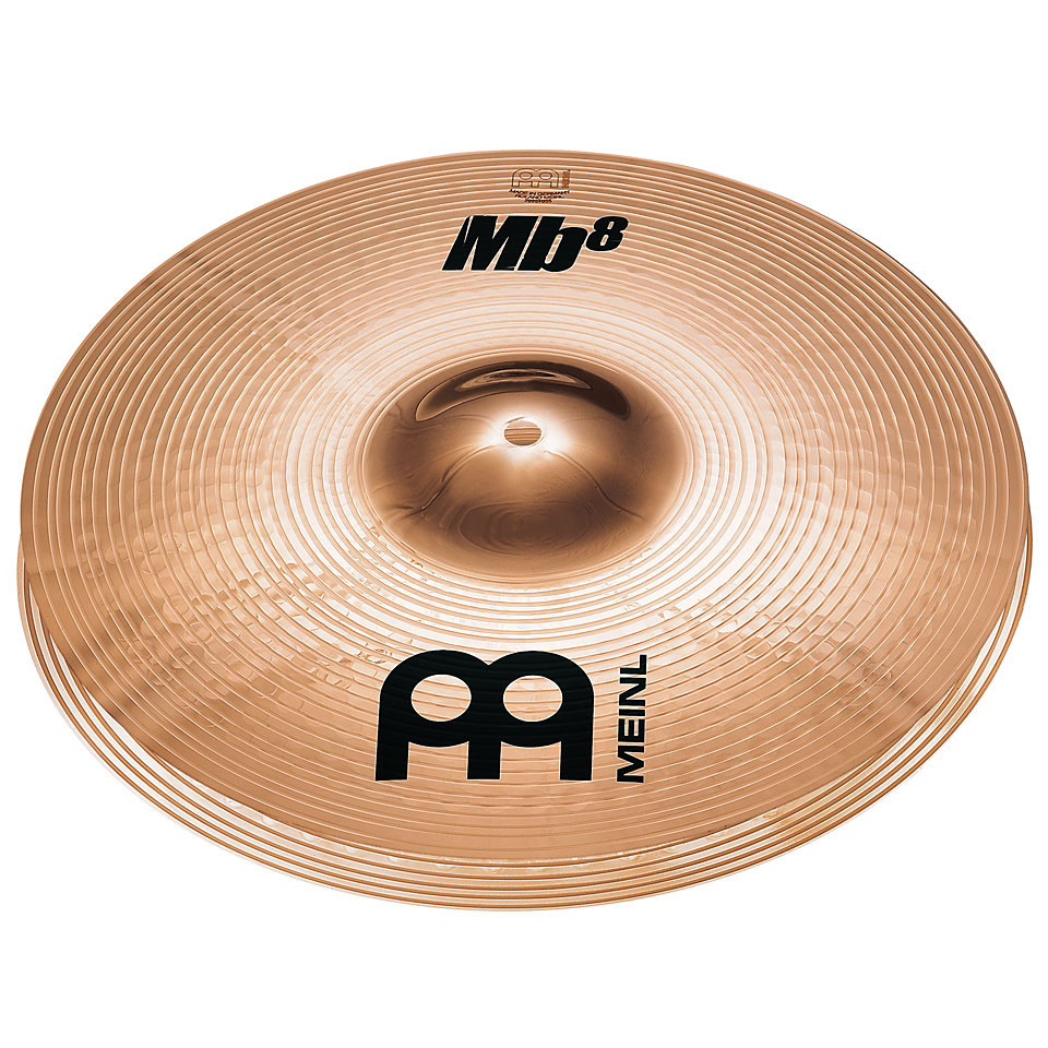 "Meinl 13"" Mb8 Medium Hi Hat Cymbals"