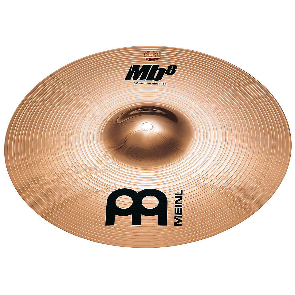 "Meinl 14"" Mb8 Medium Hi Hat Cymbals"