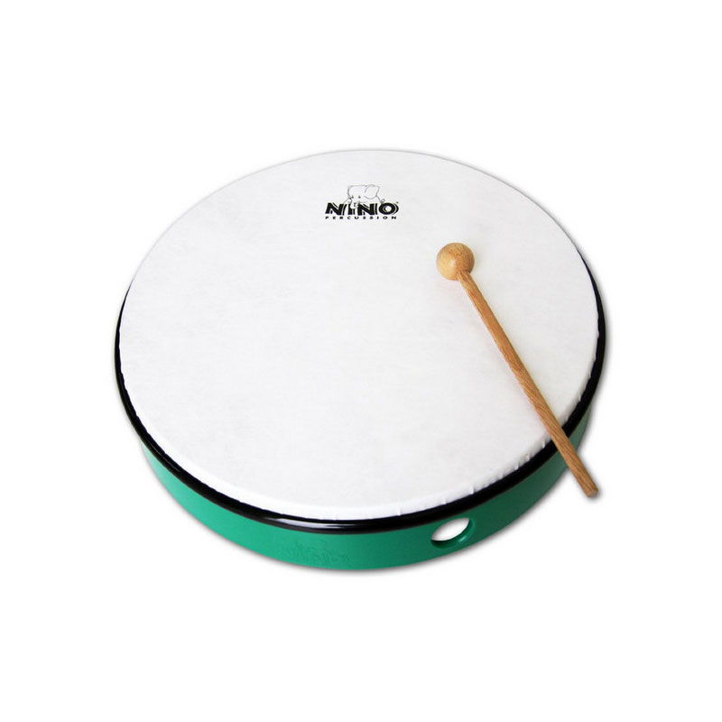 "Meinl Nino 8"" Green ABS Hand Drum"