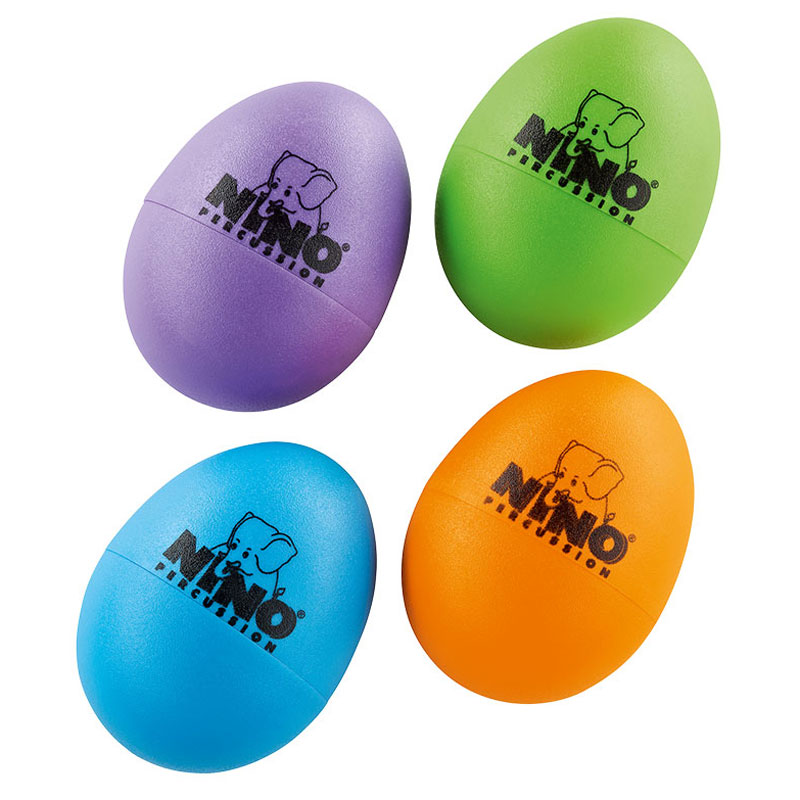 Meinl Nino 4-Piece Egg Shaker Set