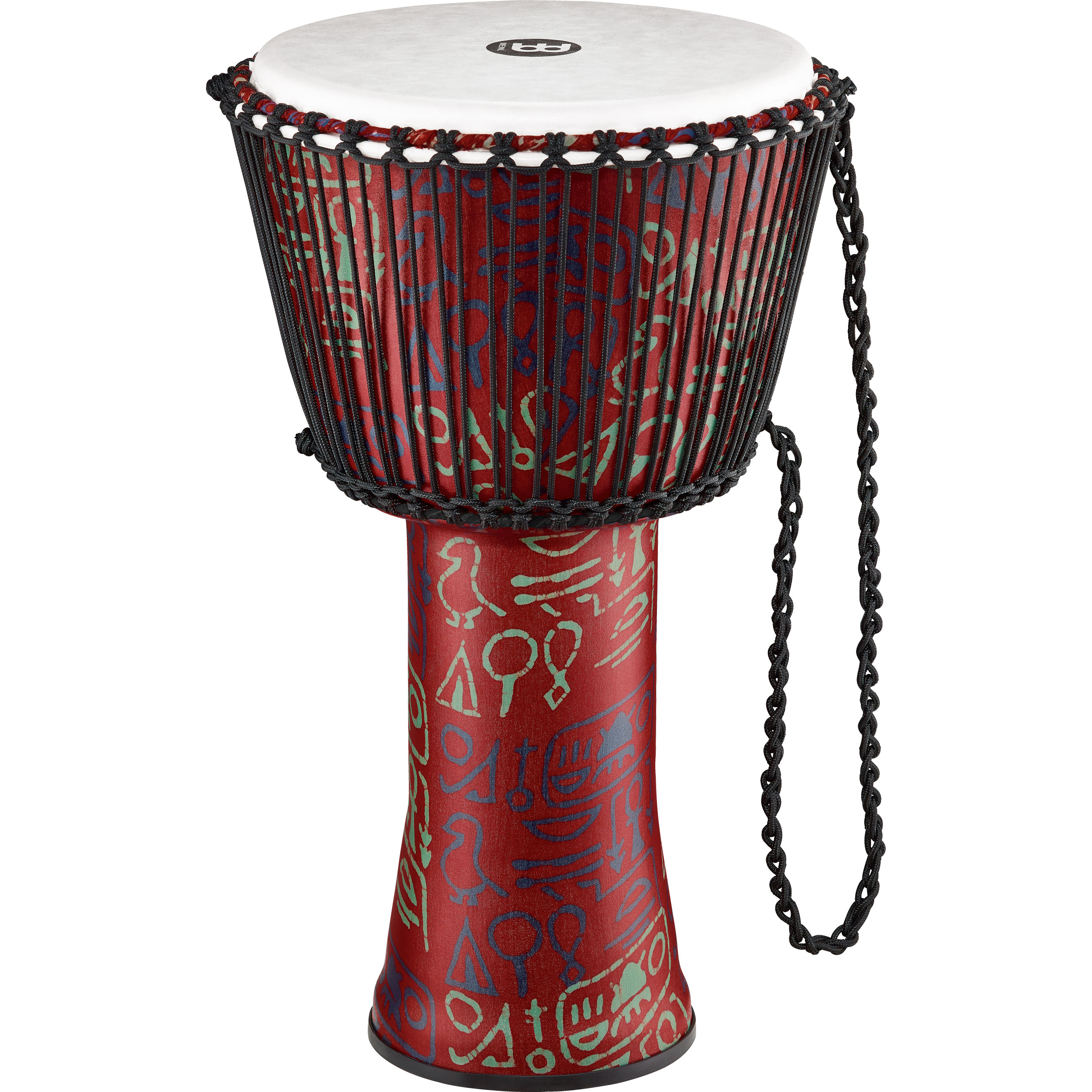 "Meinl 14"" Rope-Tuned Travel Djembe in Pharaoh"