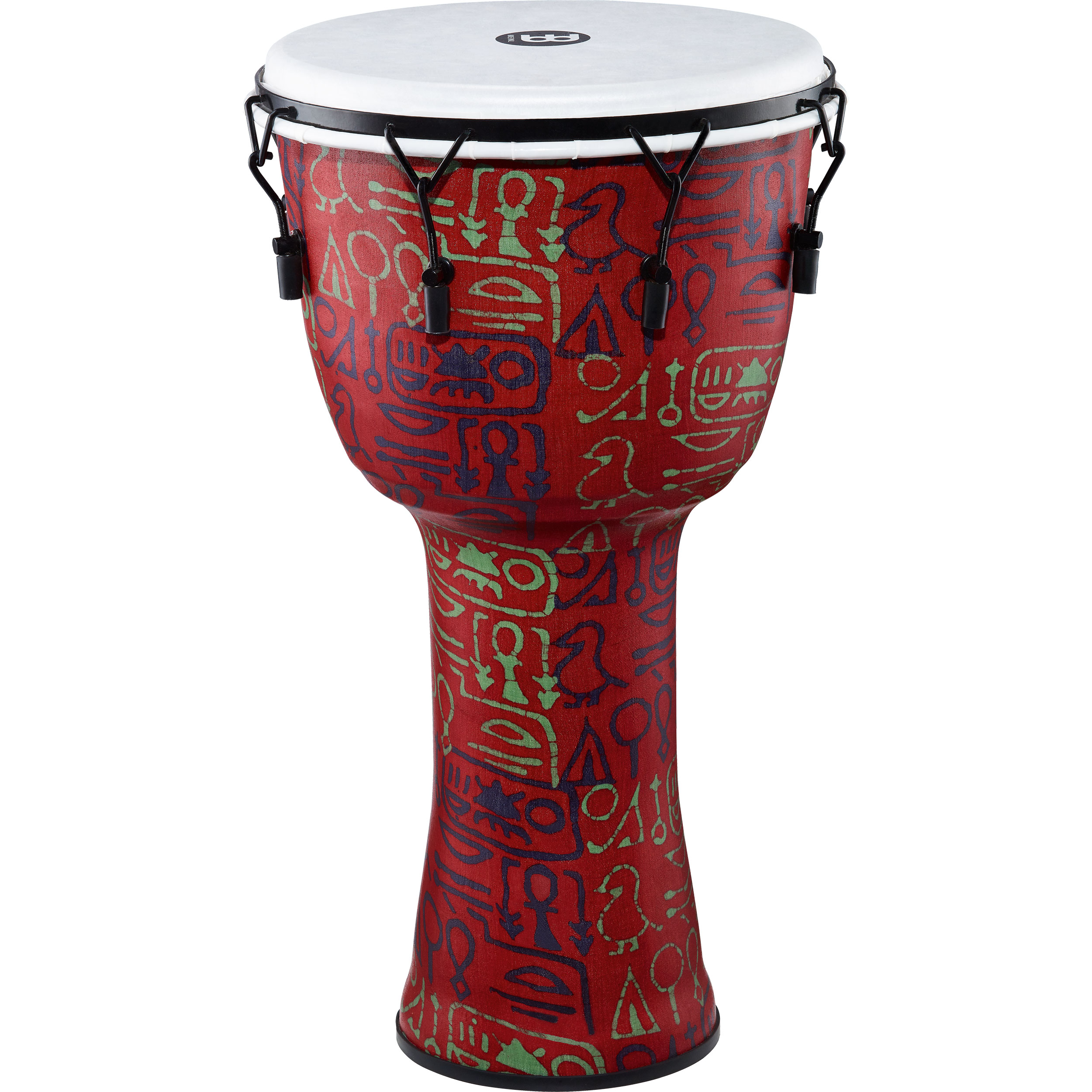 "Meinl 14"" Mechanically-Tuned Travel Djembe in Pharaoh"