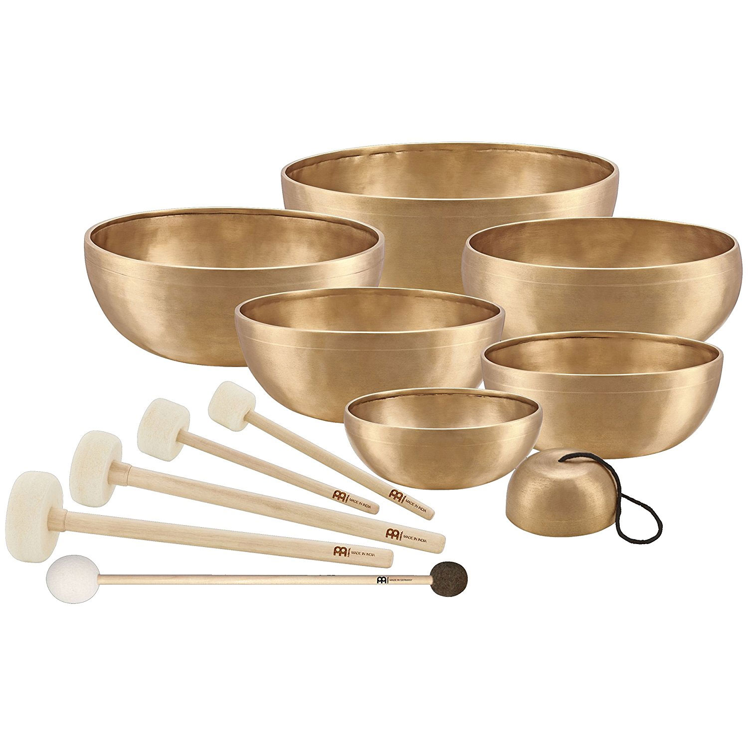 Meinl 7-Piece Chakra Singing Bowl Set